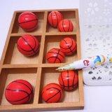 バスケットボール型(濃いオレンジ)スーパーボール