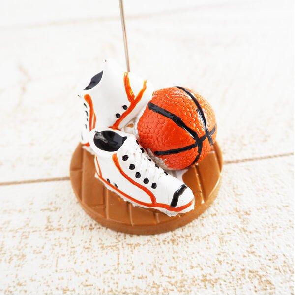 バスケットボールグッズ・雑貨 インテリア効果抜群 バスケットボールのクリップボード 1個【画像2】