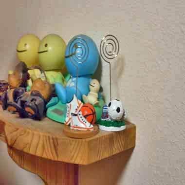 バスケットボールグッズ・雑貨 インテリア効果抜群 バスケットボールのクリップボード 1個【画像4】