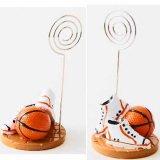 バスケットボールグッズ・雑貨 インテリア効果抜群 バスケットボールのクリップボード 1個
