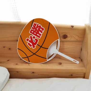 バスケットボール型オリジナル応援うちわ【画像2】