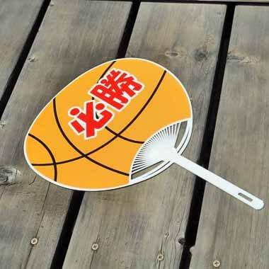 バスケットボール型オリジナル応援うちわ【画像4】