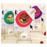 卓球 人気アイテム 卓球ラケットのフライング時計(振り子時計)