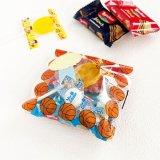 売れ筋アイテム(ボールグッズ) セットがお得 バスケットボールがたくさん オリジナルPP袋  単価 18円〜