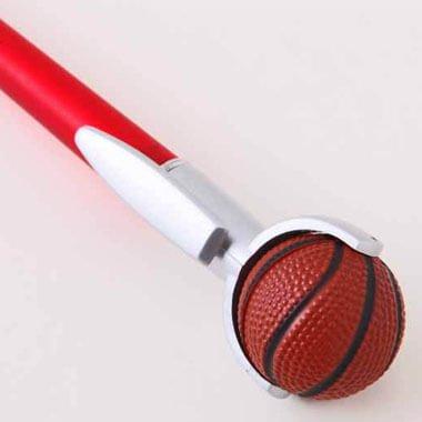 セットがお得 やわらかバスケットボール付き オリジナルボールペン 単価 138円〜