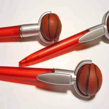 セットがお得 やわらかバスケットボール付き オリジナルボールペン 単価 138円〜【画像4】