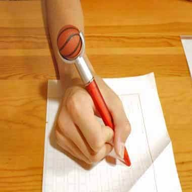 セットがお得 やわらかバスケットボール付き オリジナルボールペン 単価138円〜【画像5】