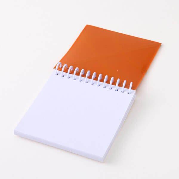 バスケットボール柄リング付きミニメモ帳(ボール部分が可愛いゴム)【画像5】