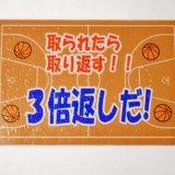(商品入替セール) 家族で楽しめるオリジナルジグソーパズル バスケットボール柄