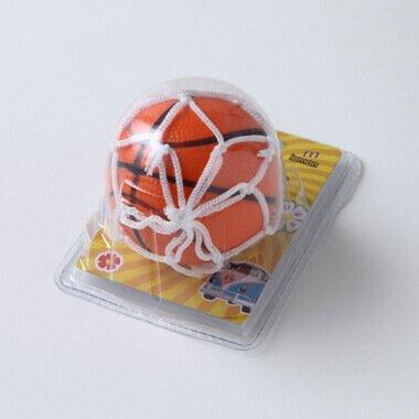 おもしろ消臭ボール バスケットボール型 (吸盤ネット付き)【画像2】