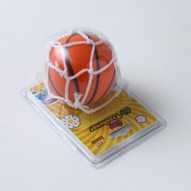 おもしろ消臭ボール バスケットボール型 (吸盤ネット付き)【画像3】