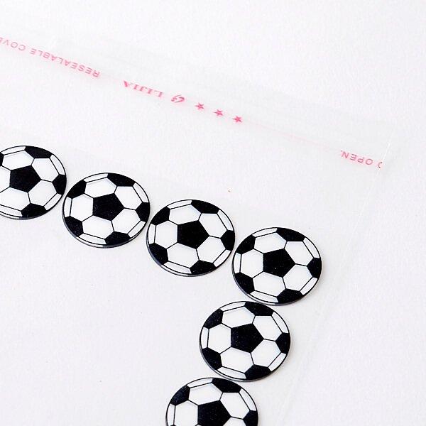 セットがお得 サッカーボールがたくさん オリジナルPP袋  単価 18円〜【画像2】
