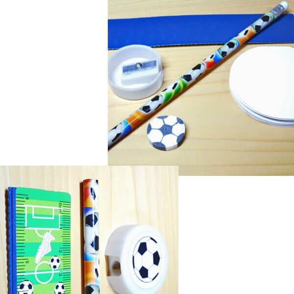 セットがお得 サッカーボールがたくさん 可愛いステーショナリーセット 単価 248円〜【画像5】