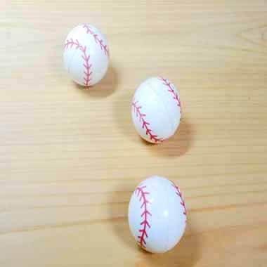 野球ボールのスーパーボール(白)【画像3】