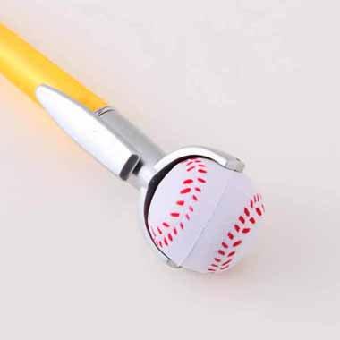 セットがお得 やわらかい野球のボール付き オリジナルボールペン 単価 138円〜