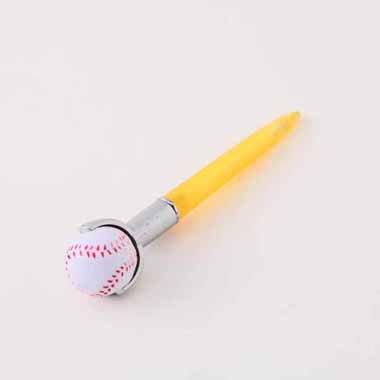 セットがお得 やわらかい野球のボール付き オリジナルボールペン 単価 138円〜【画像3】