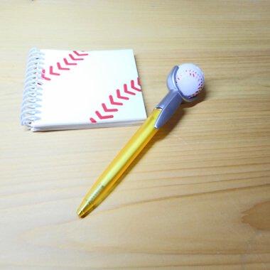 セットがお得 やわらかい野球のボール付き オリジナルボールペン 単価 138円〜【画像7】