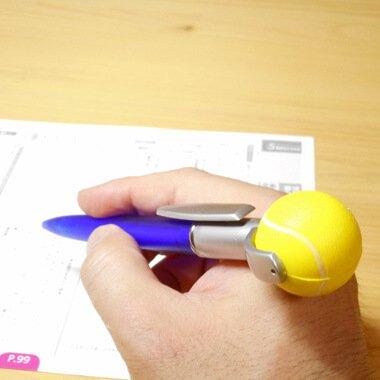 セットがお得 やわらかいテニスボール付き オリジナルボールペン 単価 128円〜【画像4】