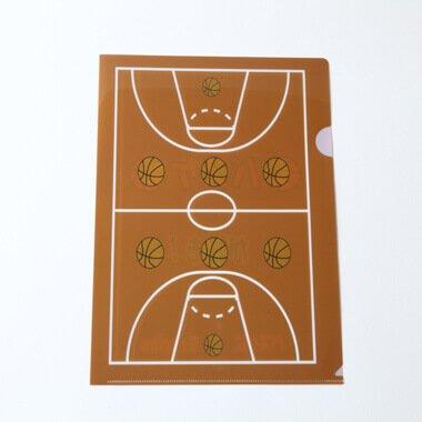 セット購入がお得! バスケットボール オリジナルクリアファイル2 単価 157円〜【画像2】