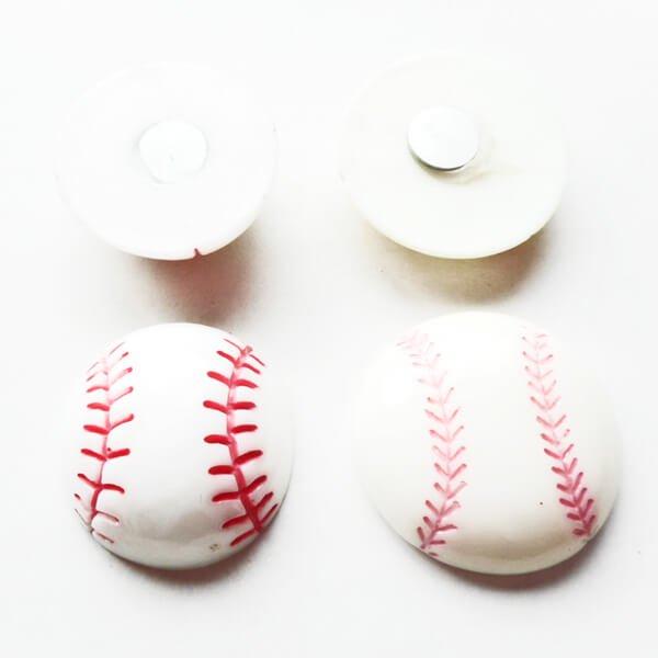 たくさん欲しくなる 野球ボール型のミニマグネット 1個