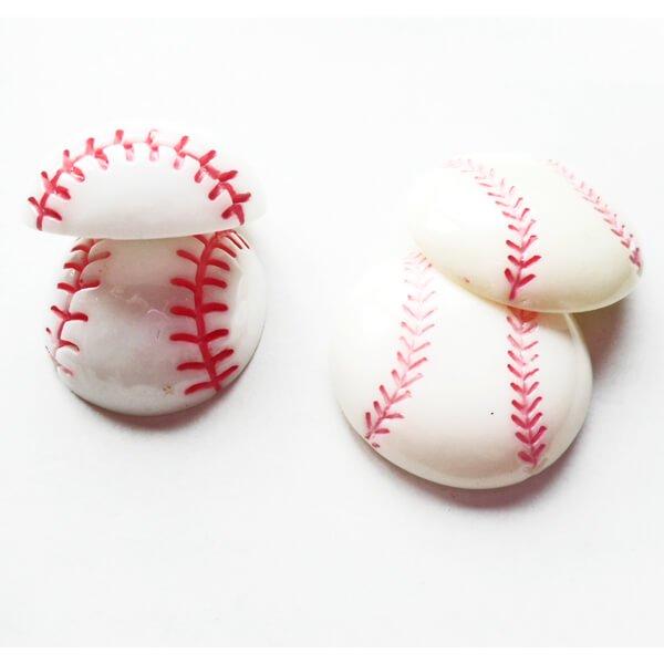 たくさん欲しくなる 野球ボール型のミニマグネット 1個【画像2】