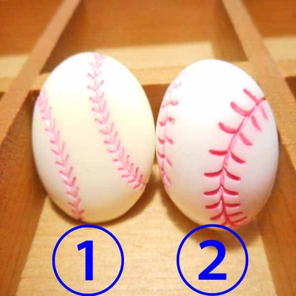 たくさん欲しくなる 野球ボール型のミニマグネット 1個【画像3】