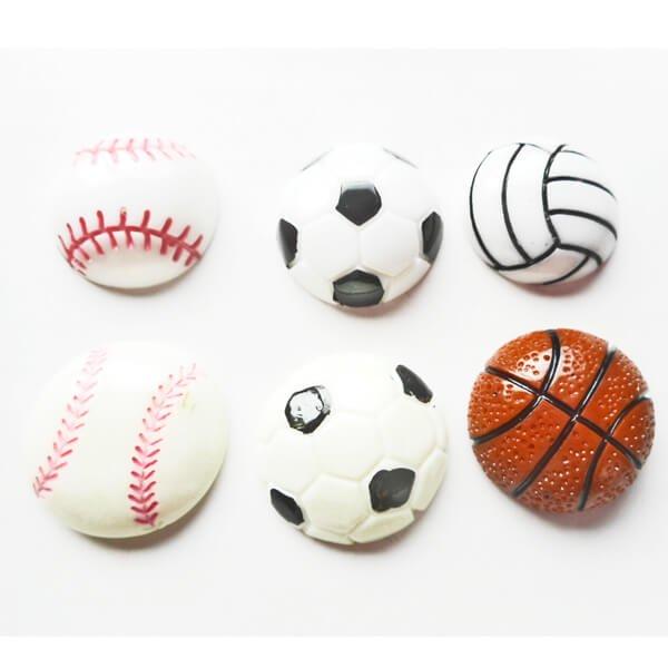 たくさん欲しくなる 野球ボール型のミニマグネット 1個【画像4】