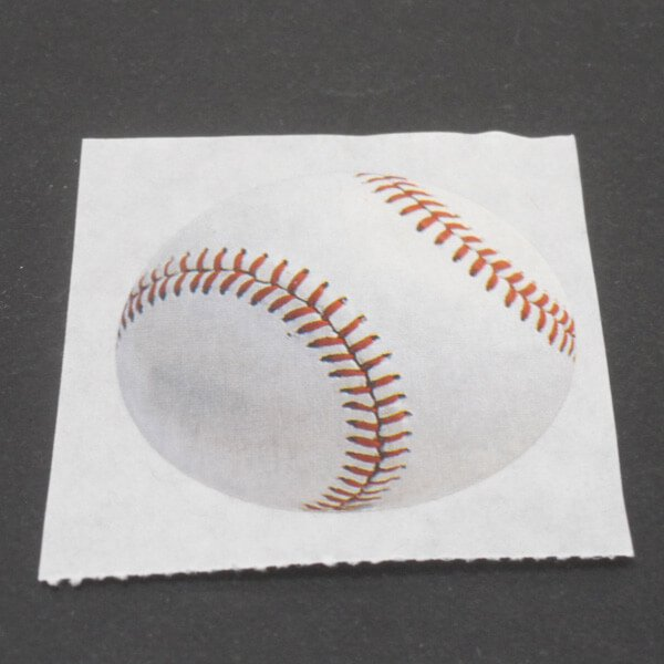 セットでお得! オリジナルマスキングビニールテープ(ミニ) 野球ボール柄 単価107円〜