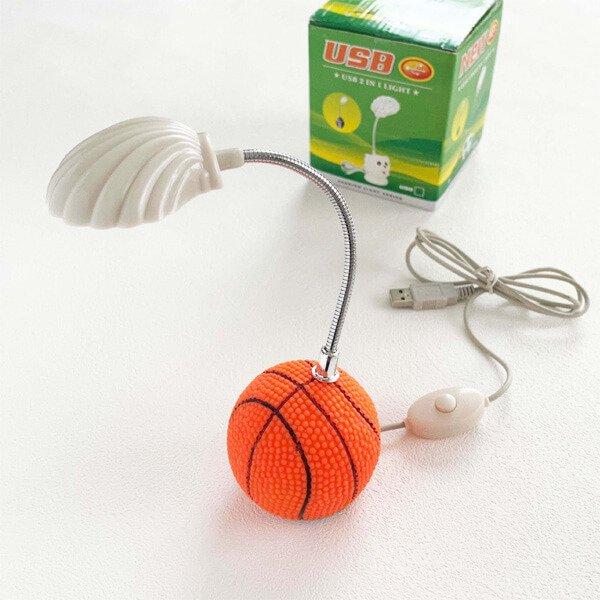 コンパクトUSBランプ バスケットボール型【画像2】