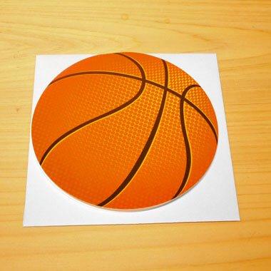 バスケットボール型のメッセージカード 【画像4】