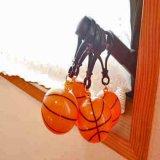 フック型の可愛いプラバスケットボールキーホルダー 単価84円〜