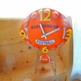 処分品 ラグビーボール型の時計