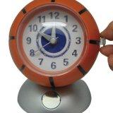 処分品  バスケットボール型の目覚まし時計
