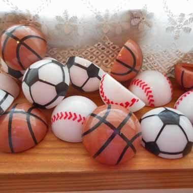 セットがお得! ホッピングボール バスケットボール(茶色) 単価39円〜【画像4】