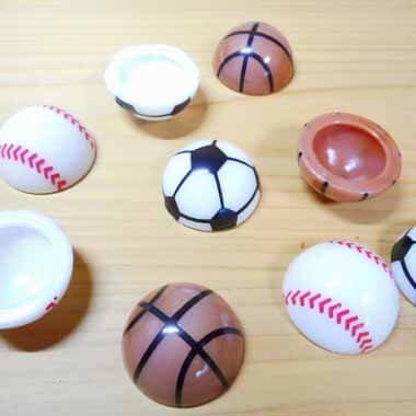 セットがお得! ホッピングボール バスケットボール(茶色) 単価39円〜【画像5】
