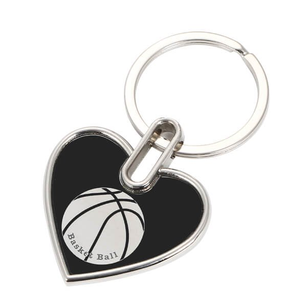 存在感のあるオリジナルキーホルダー バスケットボール柄 1個