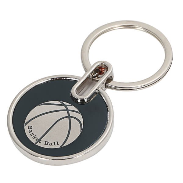 存在感のあるオリジナルキーホルダー バスケットボール柄 1個【画像2】