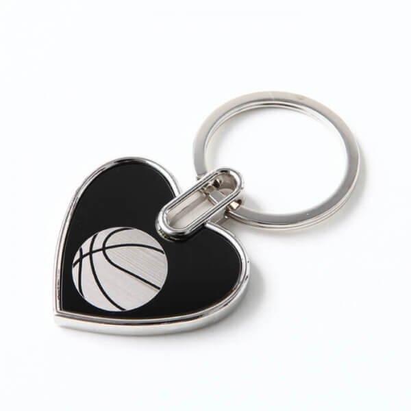 存在感のあるオリジナルキーホルダー バスケットボール柄 1個【画像7】