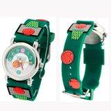 バスケグッズ 金額で選択  可愛いバスケットボール柄 子供用腕時計 1本