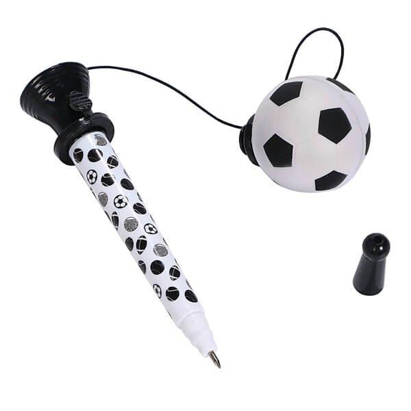 真空サッカーボールペン(ボールを飛ばして遊べるボールペン)【画像5】