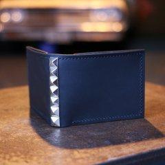 TREASURE ISLE ORIGINAL | トレジャーアイル オリジナル Hand craft leather wallet ハンドクラフト レザー スタッズ 二つ折り財布
