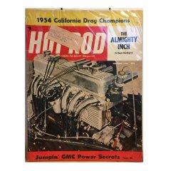HOT ROD MAGAZINE | DECEMBER 1954 ヴィンテージ・ホットロッドマガジン