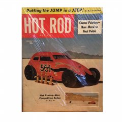 HOT ROD MAGAZINE | JUNUARY 1953 ヴィンテージ・ホットロッドマガジン
