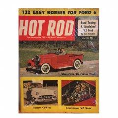 HOT ROD MAGAZINE | JLUY 1953 ヴィンテージ・ホットロッドマガジン