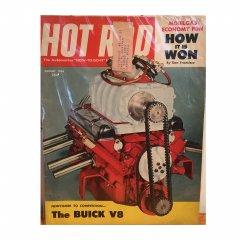 HOT ROD MAGAZINE | AUGUST 1954 ヴィンテージ・ホットロッドマガジン