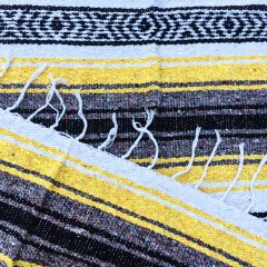 <img class='new_mark_img1' src='//img.shop-pro.jp/img/new/icons57.gif' style='border:none;display:inline;margin:0px;padding:0px;width:auto;' />MOLINA INDIAN BLANKET | メキシコ製 ラグ ブランケット - イエロー