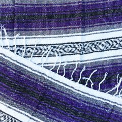 <img class='new_mark_img1' src='//img.shop-pro.jp/img/new/icons57.gif' style='border:none;display:inline;margin:0px;padding:0px;width:auto;' />MOLINA INDIAN BLANKET | メキシコ製 ラグ ブランケット - パープル