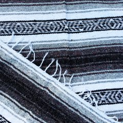 <img class='new_mark_img1' src='//img.shop-pro.jp/img/new/icons57.gif' style='border:none;display:inline;margin:0px;padding:0px;width:auto;' />MOLINA INDIAN BLANKET | メキシコ製 ラグ ブランケット - グレー