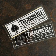 TREASURE ISLE  | ステッカー 2枚組 Spade Logo Sticker トレジャーアイル オリジナル