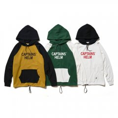 CAPTAINS HELM #2TONE  COLL EGE HOODIE